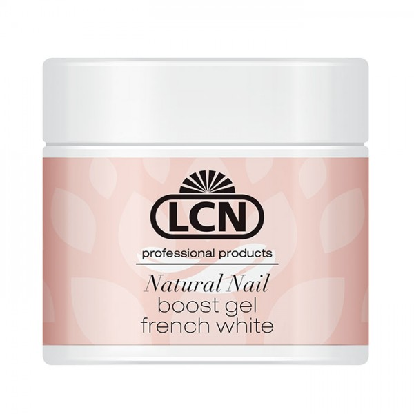 NATURAL NAIL BOOST GEL «FRENCH WHITE»