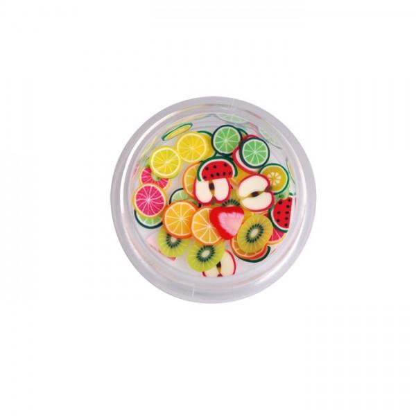 Nail Art Fruit Slices