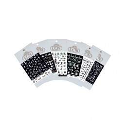 "Nail Art Sticker ""Black & White"""