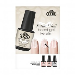 "Poster ""Natural Nail Boost Gel Keratin"""