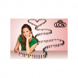 "Poster ""Nail Polishes by LCN"""