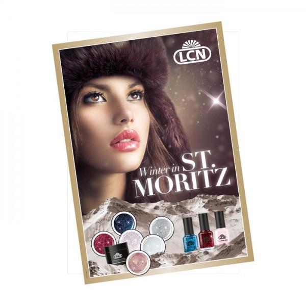 Poster «Winter in St. Moritz»
