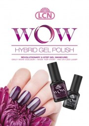 "Poster ""WOW Hybrid Gel Polish"""