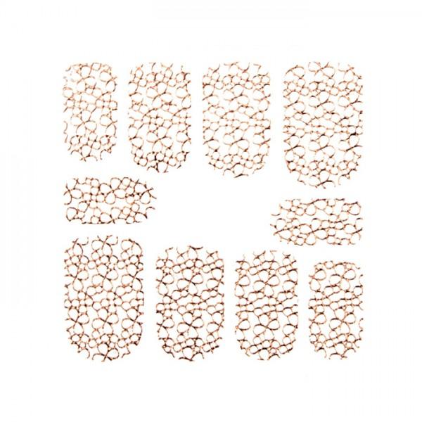 Nail Grid Sticker