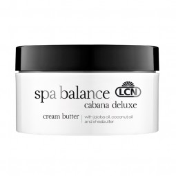 "spa balance ""cabana deluxe"" Cream Butter"