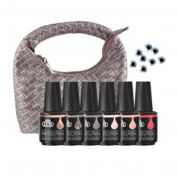 RECOLUTION ADVANCED SOAK-OFF COLOUR POLISH SET «LA BELLE VIE!»