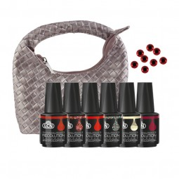 RECOLUTION ADVANCED SOAK-OFF COLOUR POLISH SET «NIGHT OUT IN BANGKOK»